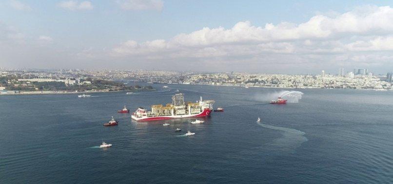 Son dakika: Enerji ve Tabii Kaynaklar Bakanı Fatih Dönmez Kanuni'yi Karadeniz'e uğurladı