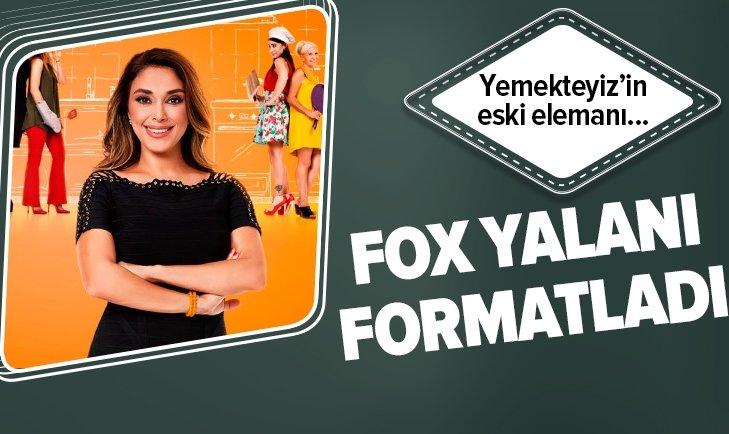 FOX TV YALANI FORMATLADI! YEMEKTEYİZ'İN ESKİ ELEMANI...