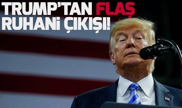 Trump'tan flaş Ruhani çıkışı