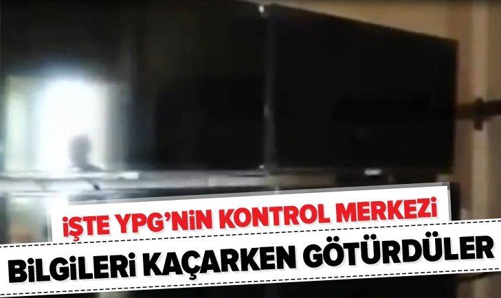 İŞTE YPG'NİN KAMERA KONTROL MERKEZİ