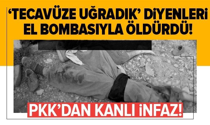 'Tecavüze uğradık' diyenleri el bombasıyla öldürdü