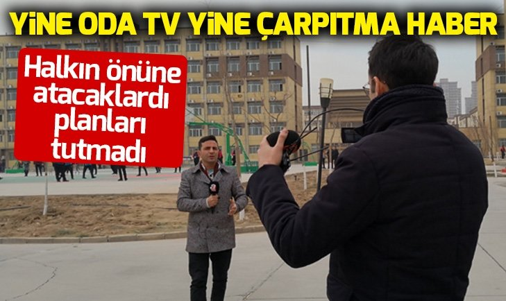 ODA TV ATV muhabirini hedef aldı