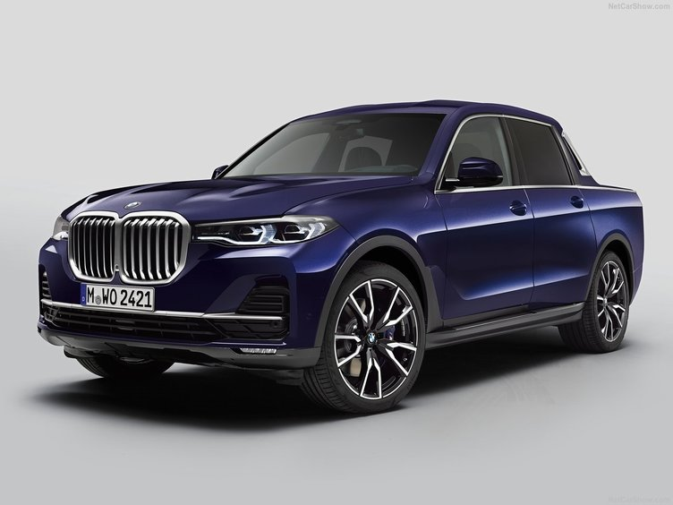BMW'DAN X7 PİCK-UP