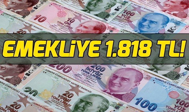SSK emeklisine 1.818 TL! Emeklinin farklı maaşı ne kadar olacak?