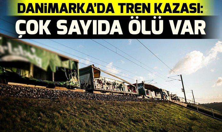DANİMARKA'DA TREN KAZASI: ÇOK SAYIDA ÖLÜ VAR