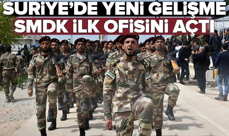 SMDK SURİYE'DE İLK OFİSİNİ AÇTI