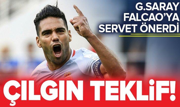 GALATASARAY'DAN FALCAO İÇİN ÇILGIN TEKLİF!