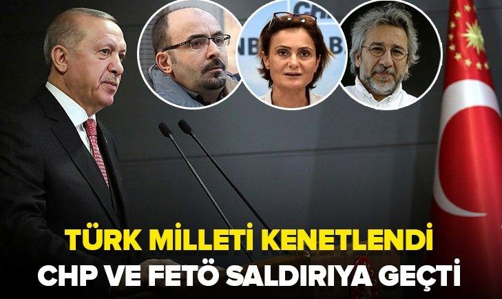 CHP ve FETÖ Türkiye'nin kenetlenmesini hazmedemedi