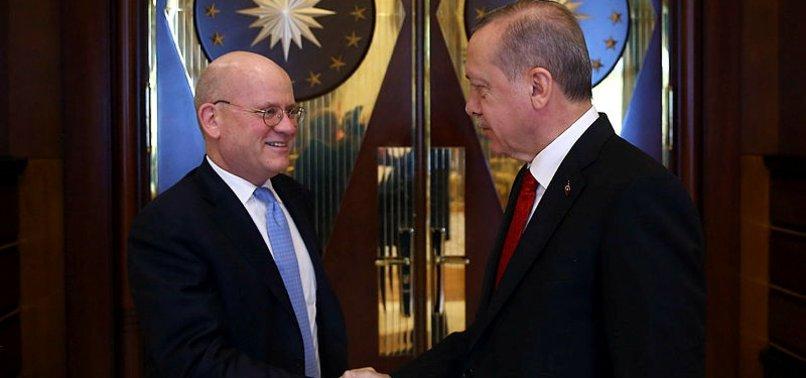 CUMHURBAŞKANI, GENERAL ELECTRİC CEO'SUNU KABUL ETTİ
