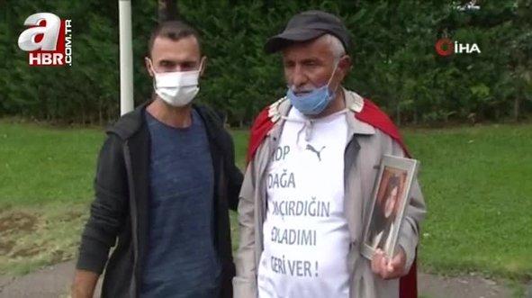 Acılı babadan HDP'ye sert tepki