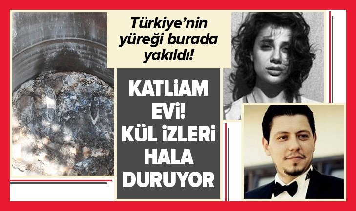 Pınar'ın katledildiği ev! İçi görüntülendi