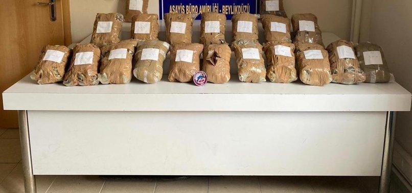 İstanbul'da uyuşturucu operasyonu! Araçtan 21 kilo Marihuana çıktı
