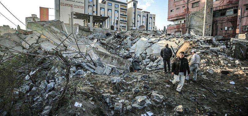 İSRAİL'DEN GAZZE'YE 50 HAVA SALDIRISI