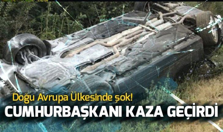MOLDOVA CUMHURBAŞKANI DODON TRAFİK KAZASI GEÇİRDİ