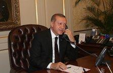 Başkan Erdoğan'dan önemli telefon görüşmesi