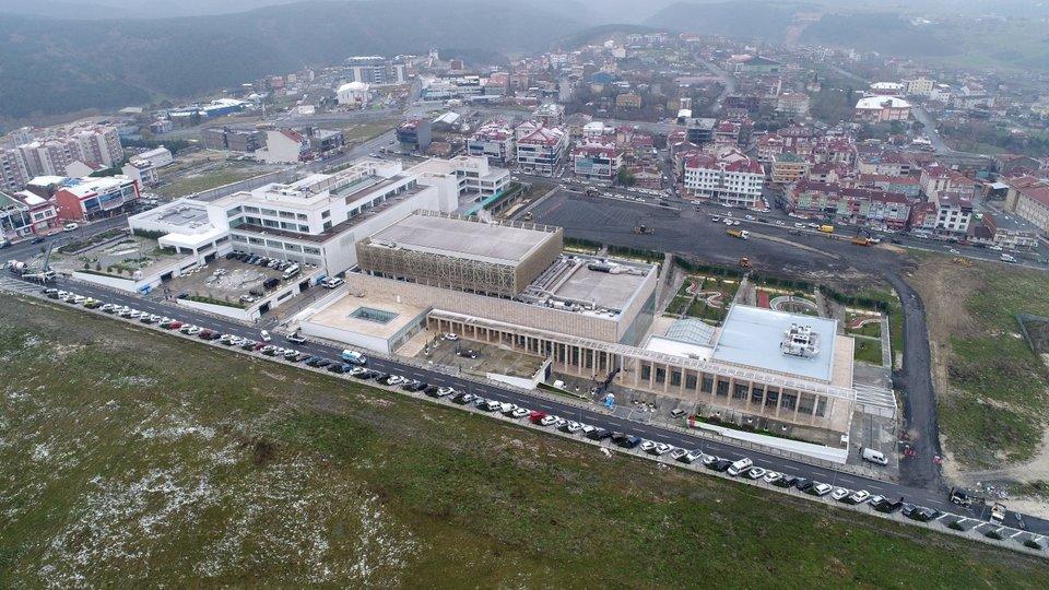 Arnavutkoy Icin Buyuk Gun 82 Proje Baskan Erdogan In