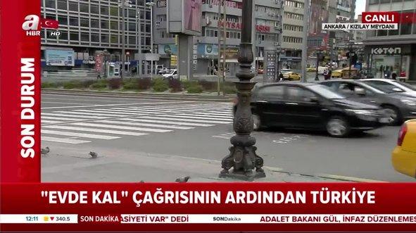 Ankaralılar korona önlemlerine uydu meydanlar boş kaldı