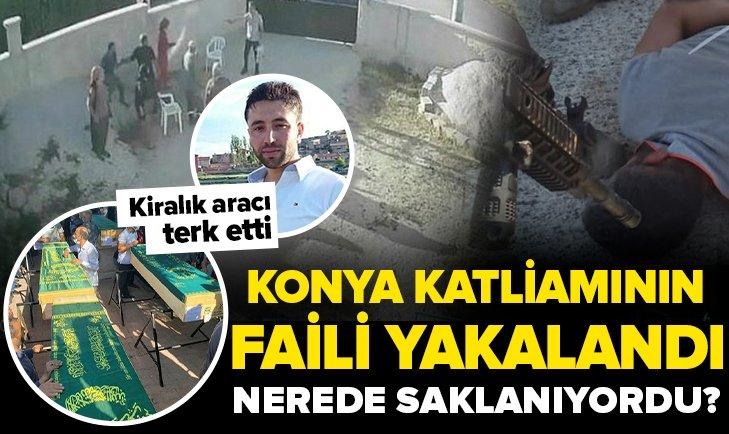 Son dakika: Konya'da 7 kişiyi öldüren katil Mehmet Altun yakalanarak gözaltına alındı