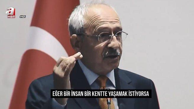 Kılıçdaroğlu'na göre belediyecilik!