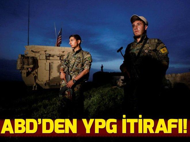 ABD'DEN TERÖR ÖRGÜTÜ YPG İTİRAFI!
