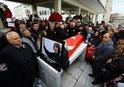 SON DAKİKA: BÜLENT ECEVİT'İN EŞİ RAHŞAN ECEVİT SON YOLCULUĞUNA UĞURLANDI