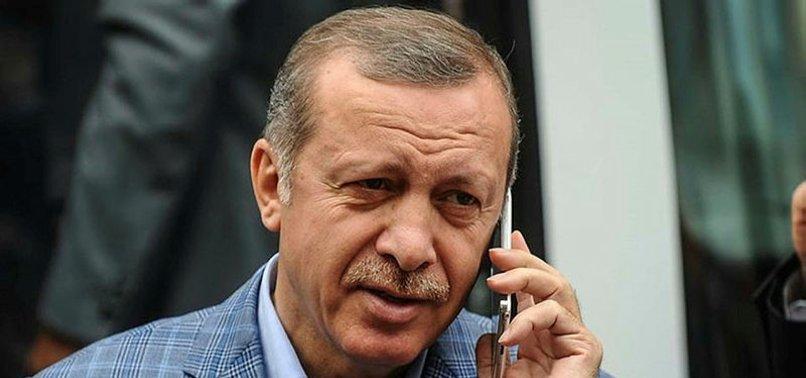BAŞKAN ERDOĞAN'DAN MİÇOTAKİS'E TEBRİK TELEFONU
