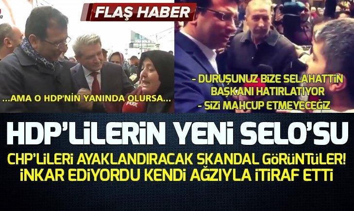 Ekrem İmamoğlunun hemşehrisine söylediği HDP yalanı deşifre oldu!