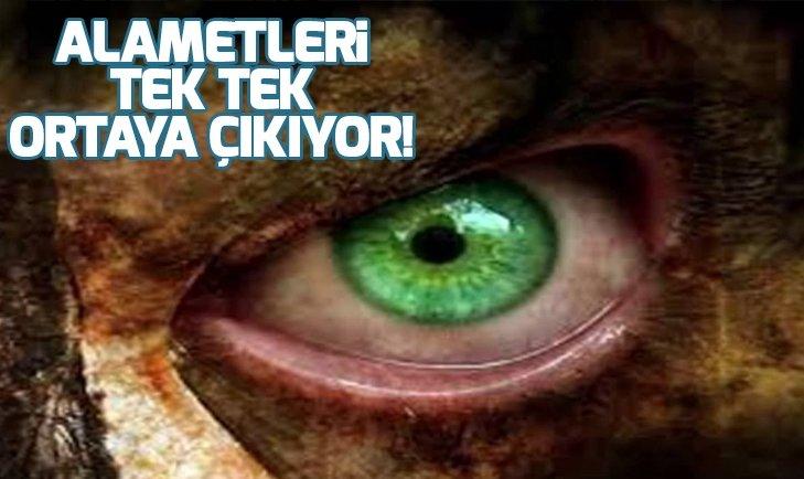TEK TEK ORTAYA ÇIKINCA TÜM DÜNYA ÜRPERDİ! DECCAL'IN ALAMETLERİ...