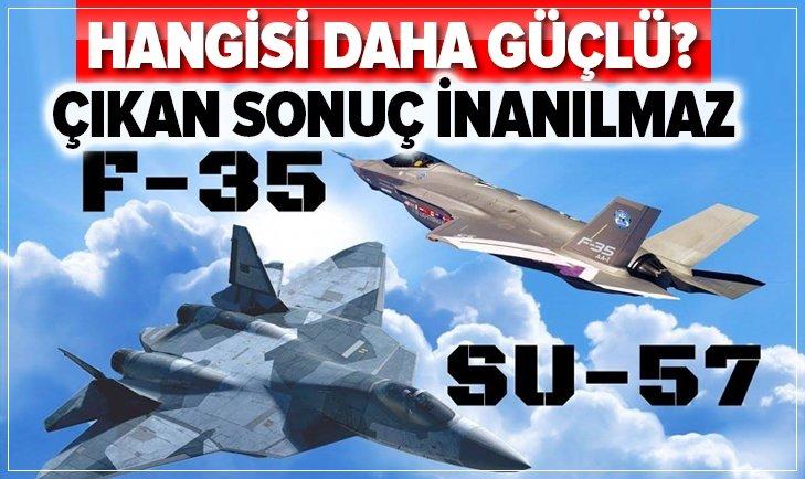 AMERİKAN F-35 Mİ RUS SU-57 Mİ DAHA GÜÇLÜ?
