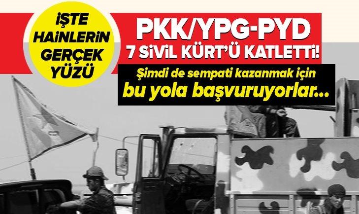 PKK/YPG- PYD, RESULAYN'DA KÜRTLERİ ÖLDÜRDÜ