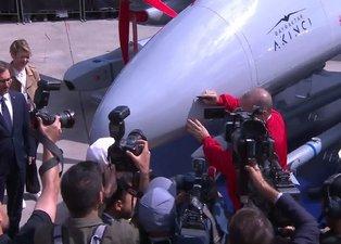 Başkan Erdoğan, Akıncı İnsansız Hava Aracı'nı imzaladı!