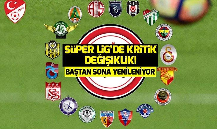 SÜPER LİG'DE YABANCI KURALI DEĞİŞİYOR!