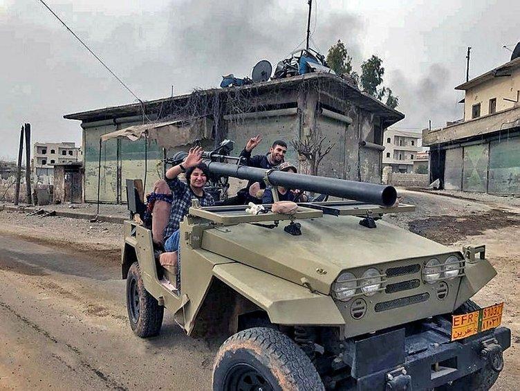 İŞTE YPG'DEKİ YABANCI TERÖRİSTLER