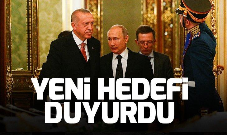 Son dakika: Başkan Erdoğan ve Putin'den açıklamalar