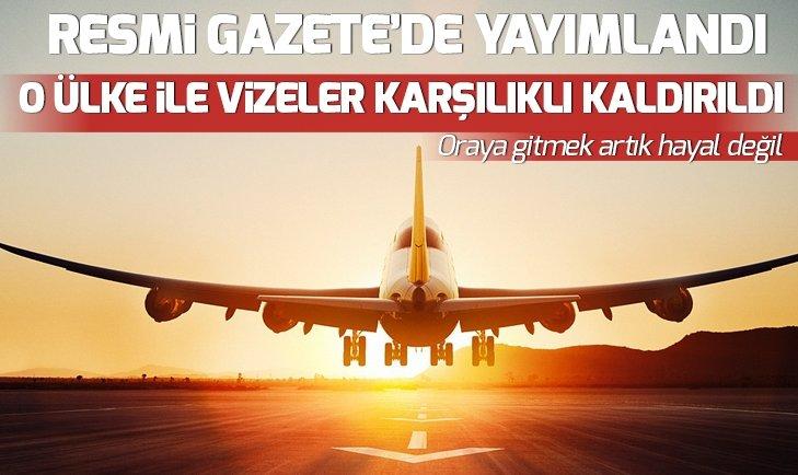 TÜRKİYE İLE MOLDOVA ARASINDA VİZELER KALKIYOR!