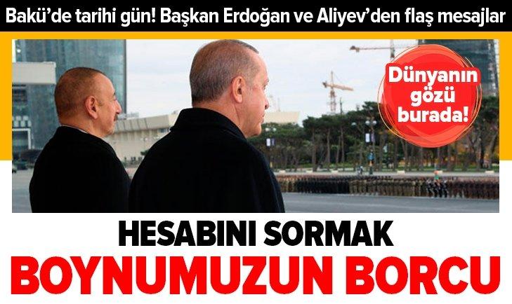 Azerbaycan'da zafer günü heyecanı!