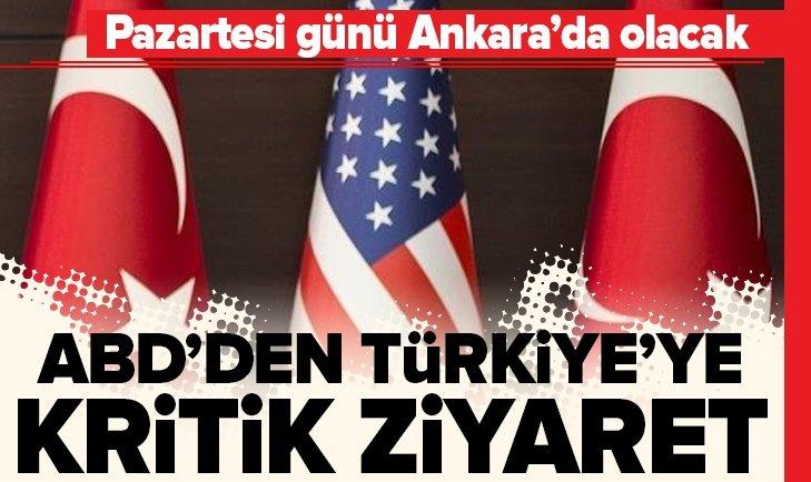 ABD HEYETİ TÜRKİYE'YE GELİYOR