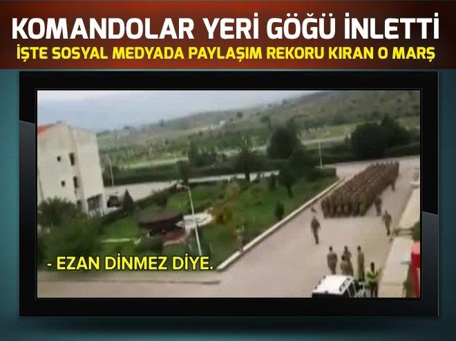 KOMANDOLAR YERİ GÖĞÜ İNLETTİ...