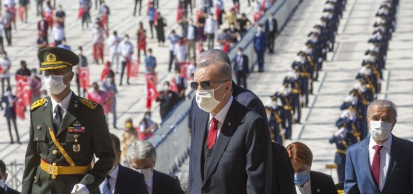 Son dakika: Büyük Taarruz'un 98. yılında Başkan Erdoğan'dan net mesaj: Türkiye tehditlere boyun eğmeyecek!