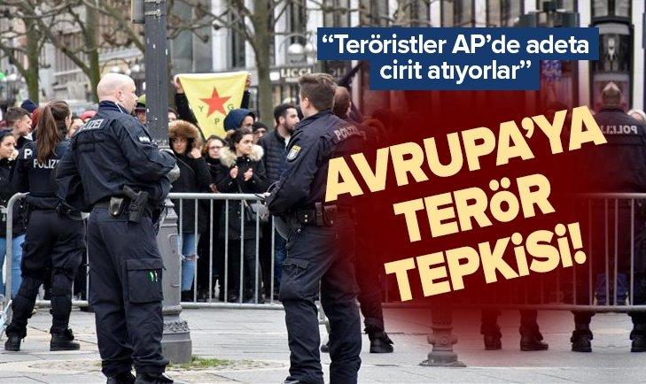 Teröristler AP'de adeta cirit atıyorlar