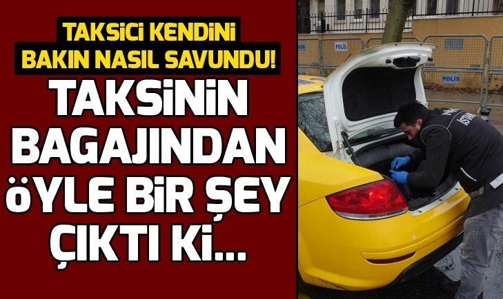 İSTANBUL'DA TAKSİLERE DENETLEME