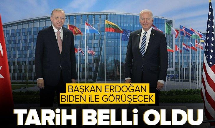 Son dakika: Başkan Erdoğan Biden ile Roma'da bir araya gelecek
