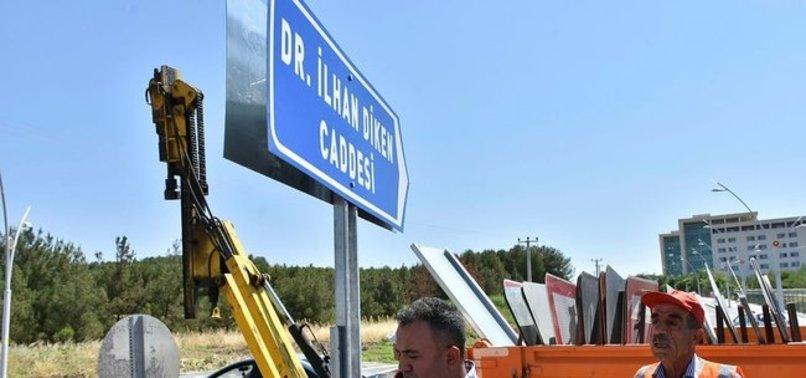 HDP'YE SOĞUK DUŞ! TABELA İNDİRİLDİ
