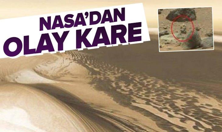 NASA MARS'TAN DEHŞETE DÜŞÜREN GÖRÜNTÜYÜ YAYINLADI