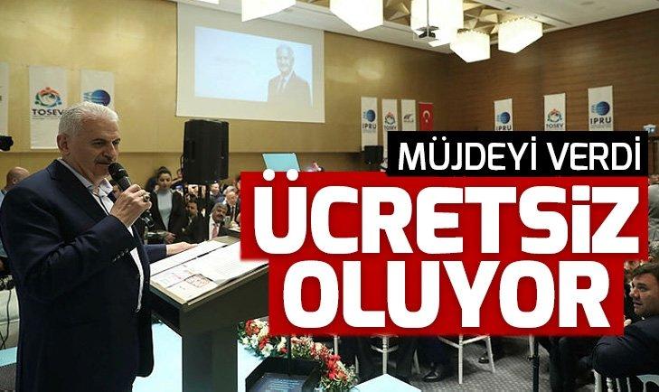 AK Parti'nin İstanbul adayı Yıldırım'dan 15 Temmuz Demokrasi Otogarı'nda müjde