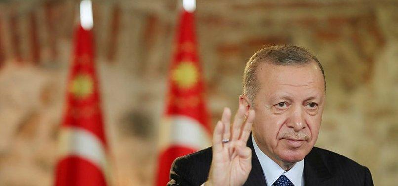 Son dakika: Başkan Erdoğan: Türkiye'nin büyümesini istemeyenler mega projelerin durdurulmasını istiyor