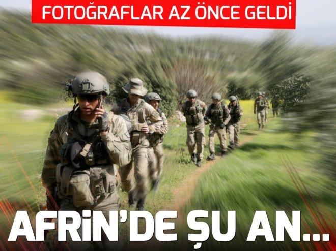 Afrin'de yeni aşama! Güvenlik güçlendiriliyor