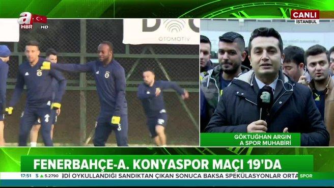 Fenerbahçe Konyaspor maçının 11'i belli oldu