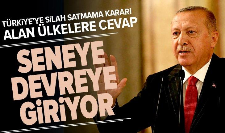 TÜRKİYE'YE SİLAH SATMAMA KARARI ALAN ÜLKELERE CEVAP