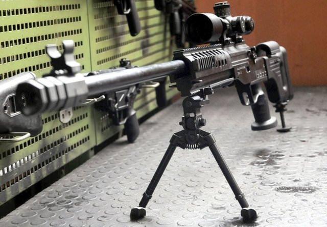 Keskin nişancıların milli silahı: Bora-12